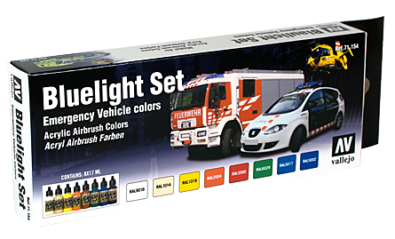Vallejo Model Air Set 8 Bluelight