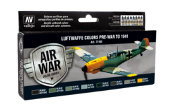 Vallejo Model Air Set - Luftwaffe Pre-War to 1941