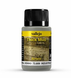 Vallejo Weathering Effects 40ml - Industrial Thick Mud