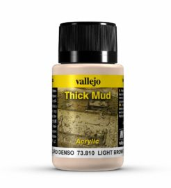 Vallejo Weathering Effects 40ml - Light Brown Thick Mud
