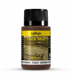 Vallejo Weathering Effects 40ml - Brown Thick Mud