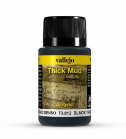 Vallejo Weathering Effects 40ml - Black Thick Mud