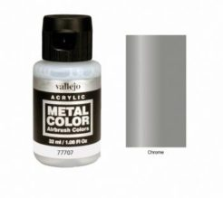 Vallejo Acrylics Metal Color - Chrome 32ml