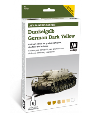 Vallejo AFV Dunkelgelb Armour Painting System