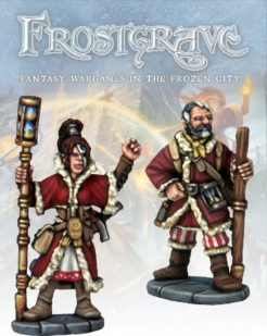 Frostgrave Chronomancer and Apprentice