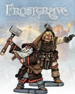 Frostgrave Enchanter and Apprentice