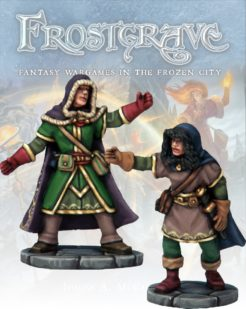 Frostgrave Illusionist and Apprentice