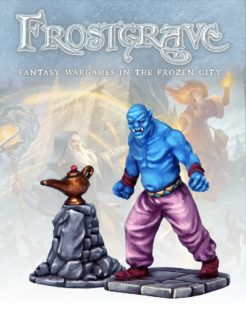 Frostgrave Genie and Lamp
