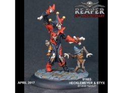 Reaper Miniatures Silver Anniversary Hecklemeyer and Styx