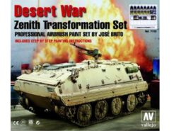 Vallejo Model Air Set - Desert War Zenith Transformation Set