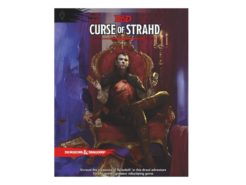 Dungeons & Dragons RPG Adventure Curse of Strahd