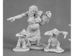 Reaper Dark Heaven Legends 03511 Dungeon Tribes Orc Matron and Brood