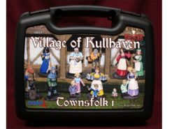 Reaper Boxed Set - Village of Kullhaven Townsfolk 1