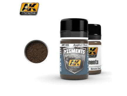 AK Interactive Pigments - Asphalt Road Dirt