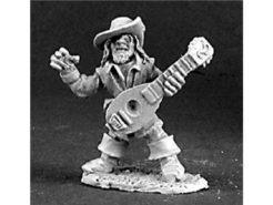 Reaper Dark Heaven Legends 03107 Fynch Brassfrog Gnome Bard