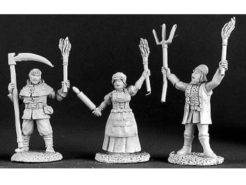 Reaper Dark Heaven Legends 03123 Townsfolk VIII Village Mob (3)