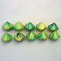 Chessex Signature 10-Sided Dice Sets