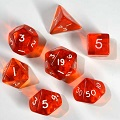 Orange Polydice Sets