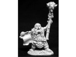 Reaper Dark Heaven Legends 02707 Odum Rumblebeard Dwarf Wizard
