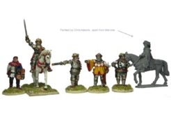 Perry Miniatures Henry V and Command
