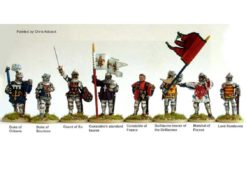 Perry Miniatures French High Command at Agincourt on Foot