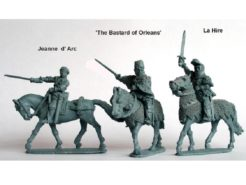 Perry Miniatures Joan of Arc and Command
