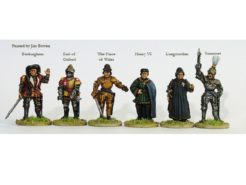 Perry Miniatures Lancastrian Command on Foot