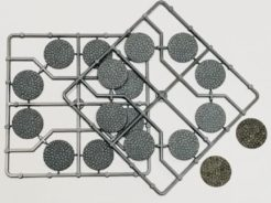 Renedra 30mm Diamater Cobblestone Bases