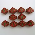 Chessex Speckled 10-Sided Dice Sets