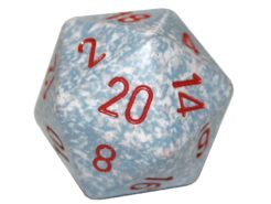 Chessex 20 Sided Dice - Large 34mm Speckled Air