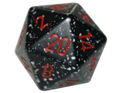 Chessex 20 Sided Dice - Large 34mm Speckled Space