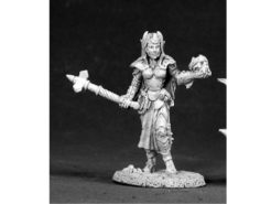 Reaper Dark Heaven Legends 02524 Female Dark Elf Cleric
