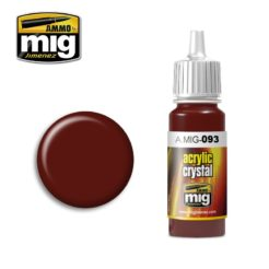 Mig Ammo Acrylic Crystal Red (17ml)