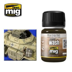 Mig Ammo Enamel Washes (35ml) - Africa Korps Wash