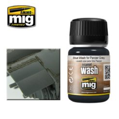 Mig Ammo Enamel Washes (35ml) - Blue Wash For Panzer Grey