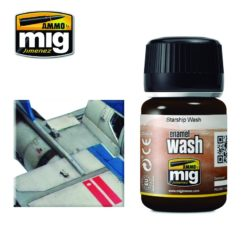 Mig Ammo Enamel Washes (35ml) - Starship Wash