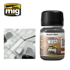 Mig Ammo Enamel Washes (35ml) - Neutral Wash