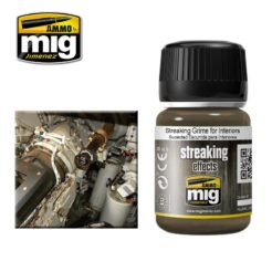 Mig Ammo Enamel Streaking Effects (35ml) - Streaking Grime For Interiors