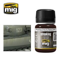 Mig Ammo Enamel Streaking Effects (35ml) - Streaking Grime For Panzer Grey