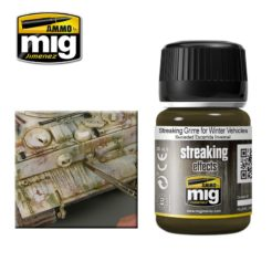 Mig Ammo Enamel Streaking Effects (35ml) - Streaking Grime For Winter Vehicles