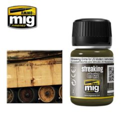 Mig Ammo Enamel Streaking Effects (35ml) - Streaking Grime For US Modern Vehicles
