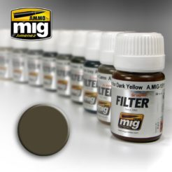 Mig Ammo Filter - Dark Grey for White