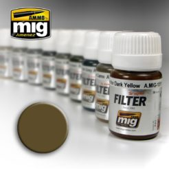 Mig Ammo Filter - Brown for Desert Yellow