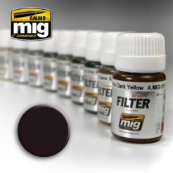 Mig Ammo Filter - Brown for Dark Green