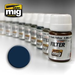 Mig Ammo Filter - Blue for Dark Grey