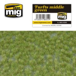 Mig Ammo Grass Mat - Middle Green Turf
