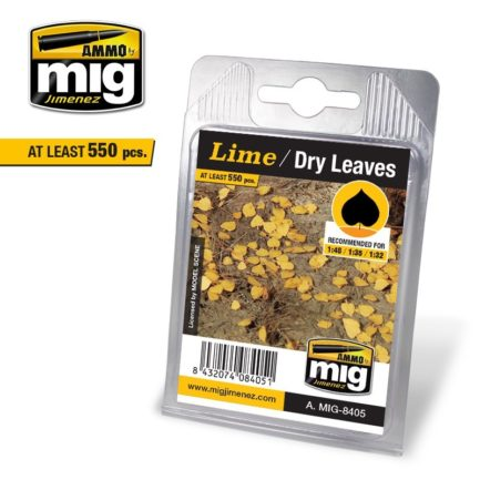 Mig Ammo Leaves - Lime - Dry Leaves