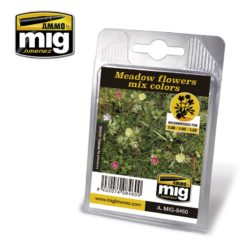 Mig Ammo Laser Cut Plants - Meadow Flowers Mixed Colors