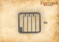 Fireforge Games Plastic Javelins 4cm Pack of 24