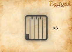 Fireforge Games Plastic Spears 5cm Pack of 24
